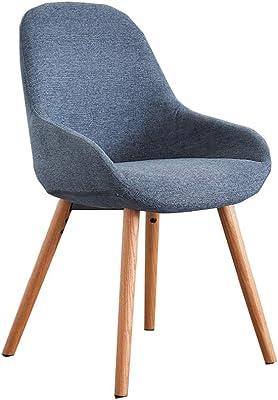 Amazon.com: Silla de comedor ALY europea moderna silla de ...