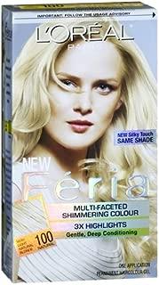 L'oreal LOreal Feria Permanent Haircolour Gel 100 Pure Diamond, Pure Diamond 1 each (Pack of 3)