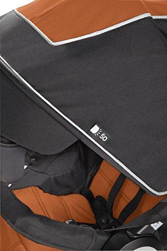 Graco Relay Click Connect Jogging Stroller, Tangerine