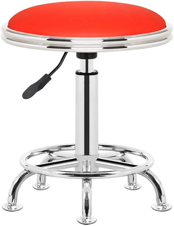 Lift bar Chair Bar Stool Lift redate Bar Chair Beauty Barber Work Stool Work Chair (color   C)