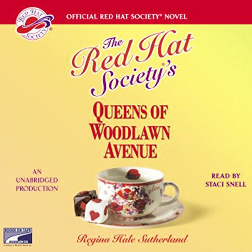 Red Hat Society's Queens of Woodlawn Avenue audiobook cover art