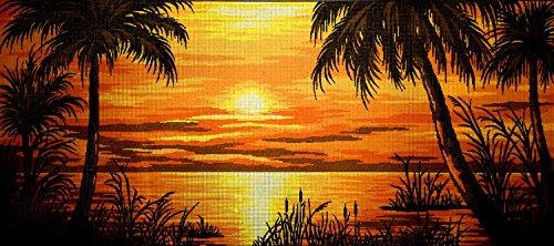 hudema's Needlepoint Kit Tropical Sunset 28.7