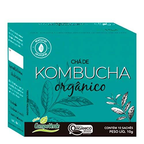 Chá Kombucha Orgânico - chá fermentado (10 sachês) - Campo Verde