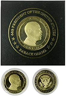 President Obama - Commerative Coin /W Case by Obama Keepsake Collection
