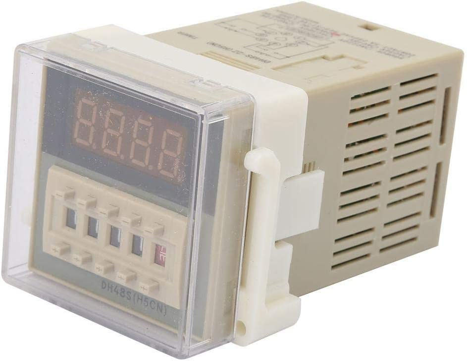 Digital Time Relay O111ROM DH48S-2Z LCD Display Time Relay Delay