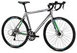 Mongoose Selous Sport Gravel Road Bike with 700cm Wheel, Silver