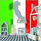 Wandtapete 3D für kundenspezifische Fahnen-Foto-Wand-Tapete für Wohnzimmer-Sofa-Fernsehhintergrund-Tapeten 350x256cm/137.8x100.8in