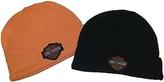 Baby Boys' Hat Set, Infant 2 Pack Gift Set, Black/Orange 3050044
