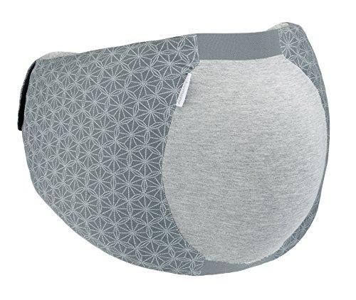 Babymoov Dream Belt - Ein elastischer, anatomischer Gürtel, der werdenden Müttern hilft, bequem zu schlafen und für alle Phasen der Schwangerschaft geeignet ist, L/XL, Grau