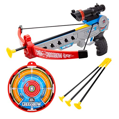 SubClap Bow and Arrow Archery Set Toy for Kids with 3 Suction Cups Arrows, Target Play Crossbow Game Practice Outdoor Shooting Toys for Boys Grils, Suit for 6 and Up Years Old