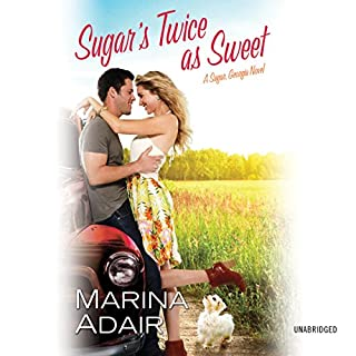 Sugar's Twice as Sweet     Sugar, Georgia: Book 1              By:                                                                                                                                 Marina Adair                               Narrated by:                                                                                                                                 Chelsea Hatfield                      Length: 11 hrs and 19 mins     60 ratings     Overall 4.4
