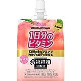 ハウスウェルネスフーズ Perfect Vitamin 1日分のビタミンゼリー 食物繊維 ピーチ味 180g ×24個