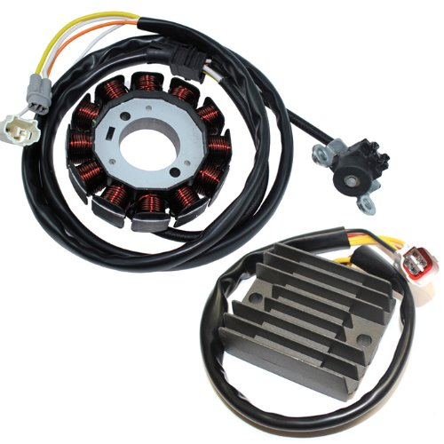 Caltric Stator & Regulator Rectifier Compatible with Yamaha Yfz450 Yfz-450 Yfz 450 2004-2013