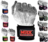 Wrist Wrap for Weight Lifting (Black), Crossfit, Bodybuilding, MMA Training Wrist Support, Gym Accessories for Men and Women, Workout Gear Wrist Straps for Wrist Pain - MRX Boxing & Fitness