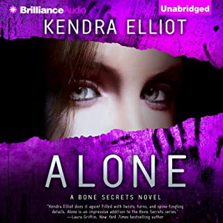 Alone audiobook cover art