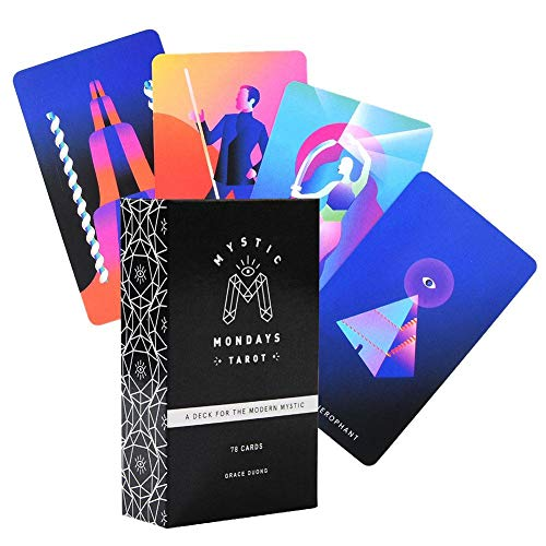 Bettying Tarotkarten-Set und Buch-Set für Mystic Montags Tarot für Einsteiger-Set
