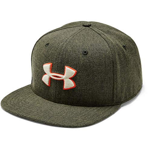 Under Armour Huddle 2.0 Gorra, Hombre, Verde, OSFA