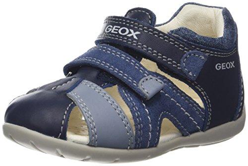 Geox B Kaytan C, Sandalias para Bebés, Azul, 22 EU
