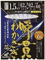 ハヤブサ(Hayabusa) 瞬貫わかさぎ 細地袖型 6本鈎 C238 1.5-0.2