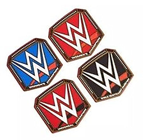 WWE Slam Championship - Juego de 4 posavasos de PVC