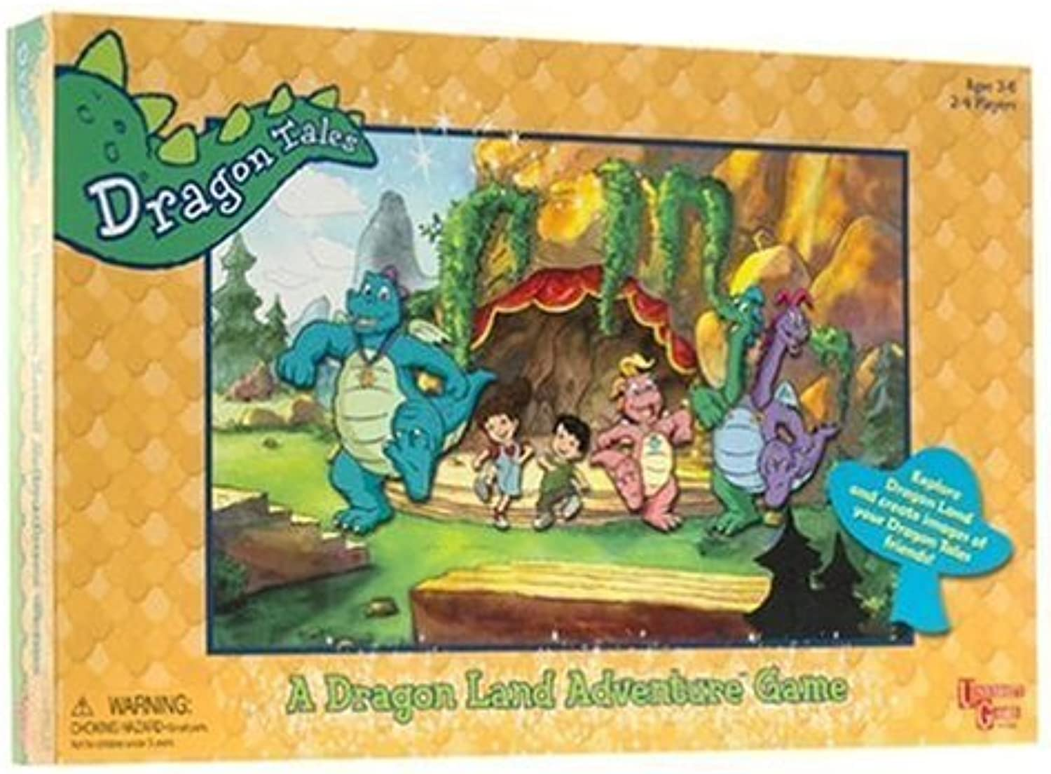 Dragon Tales Game by University Games