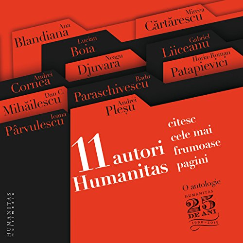 11 autori Humanitas citesc cele mai frumoase pagini audiobook cover art