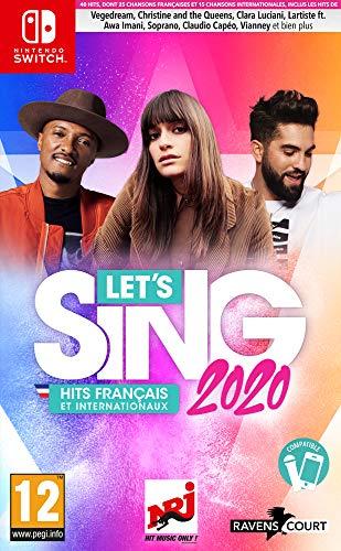Let's Sing 2020 : Hits Français et Internationaux pour Nintendo Switch
