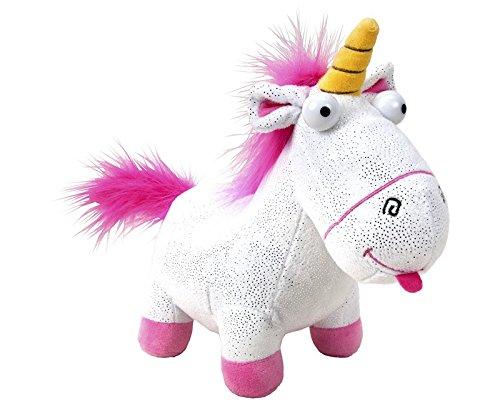 Play by Play Peluche GRU 3, Mi Villano Favorito - Unicornio Fluffy con Brillos Gigante 50 CM