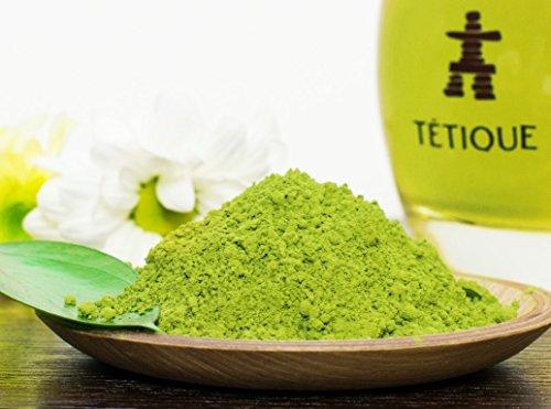 TÉTIQUE Te Verde MATCHA Japones en polvo organico con certificado BIO | Lata de 30 gr | Te verde original de Japon | Matcha japones ideal para beber | Matcha en Polvo para Latte o bebidas con Matcha