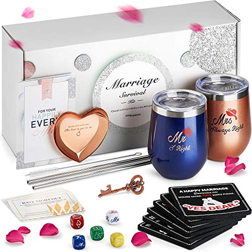 The Marriage Survival Kit engagement gifft for older couple