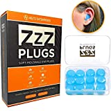 Best Ear Plugs For Sleeping Snorings - ZZZ-Plugs Silicone Earplugs - 6 Pair Value Review