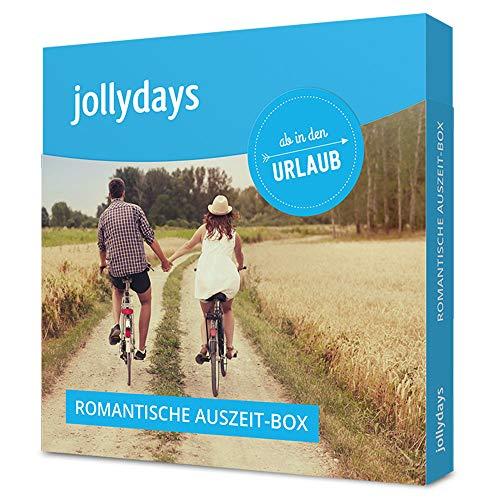 Jollydays Romantische Auszeit Box | Hotelgutschein für 2 | Auswahl aus 30 Hotels