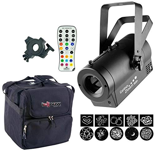 Chauvet DJ Gobo Zoom USB Gobo Projector Package