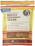 Big Tree Farms Organic Brown Coconut Sugar, Vegan, Gluten Free, Paleo, Certified Kosher, Cane Sugar Alternative, Substitute for Baking, Non GMO, Low Glycemic, Unrefined, Fair Trade,1 Pound