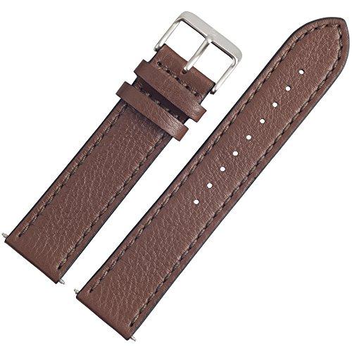 Victorinox Uhrenarmband 21mm Leder Braun - Uhrband 004389