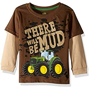 John Deere Little Boy Long Sleeve Tee