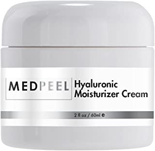 Hyaluronic Moisturizer Cream, with healing and hydrating ingredients to help with dry skin, 2oz