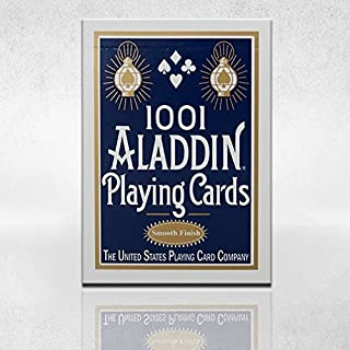 Aladdin 1 Deck of 1001 Smooth Finish (Blue) Playing Cards Collectible Poker Deck