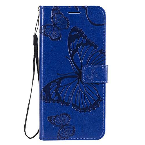 Funda para móvil Oppo Reno4 5G [función atril] [compartimento para tarjetas] Funda protectora de...