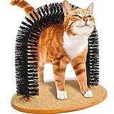 BUYTER Massage de chat Scratch Démanger Minou Outils de cheveux Brosse de soins de beauté Arche de soies