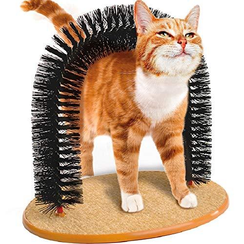 BUYTER Katzenmassage kratzender Juckreiz Kitty Haarwerkzeuge Schönheitspflegebürste Borstenbogen