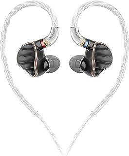 YaGFeng Fiio Fh7 Hifi Audio Hi-res Beryllium Pvd 5driver (4 Knowles Ba + 1dd) Hybrid In-hörlur/hörlurar med Mmcx avtagbar ...