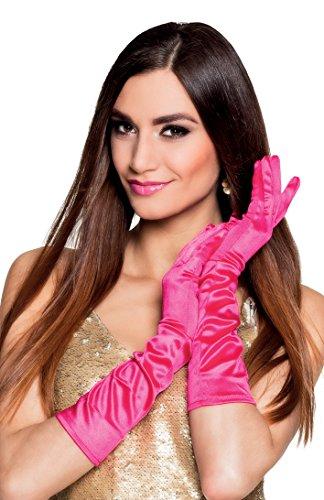 Boland 03008 - Handschuhe Monte Carlo, Einheitsgröße, pink