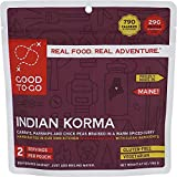 GOOD TO-GO Indian Korma - Double Serving |...