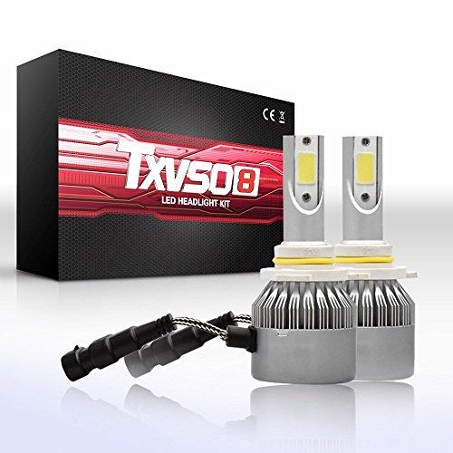 DJY-JY H10 - Juego de bombillas LED antiniebla, chips COB, 55 W, 9200 lm, 6000 K (paquete de 2)