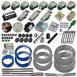 準備万端シリーズ (2回練習分) 第二種電気工事士技能試験練習用材料「全13問分の器具・電線セット」 (2020年度版)