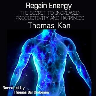 Regain Energy audiobook cover art
