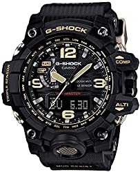 firefighter g-shock wrist watch for men - The G-Shock Mudmaster - These G-Shock watches are mud, shock, and water resistant ILLUMINATED DIAL:This G-Shock watch features Twin Sensor capabilities that provide instant access to direction and temperature information when needed under tough condition