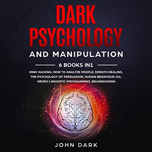 『Dark Psychology and Manipulation』のカバーアート