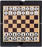ZHEYANG Ajedrez para Niños con Juego de ajedrez de Madera para niños de Todas Las Edades.